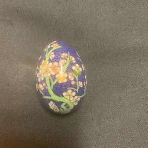 Decorative Cloisonné Egg